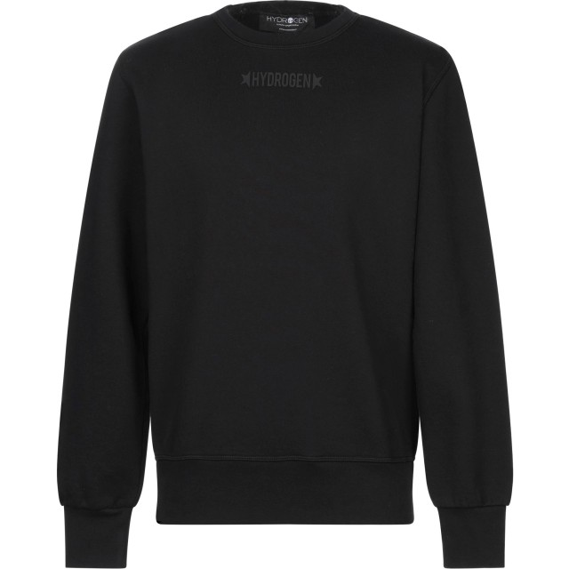 《セール開催中》HYDROGEN メンズ スウェットシャツ ブラック XS コットン 100%