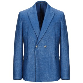 《期間限定セール開催中!》RODA メンズ テーラードジャケット ブライトブルー 50 コットン 50% / ナイロン 48% / ポリウレタン 2%
