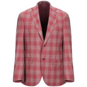 《期間限定 セール開催中》AQUARAMA メンズ テーラードジャケット レンガ 46 ウール 80% / ナイロン 20%