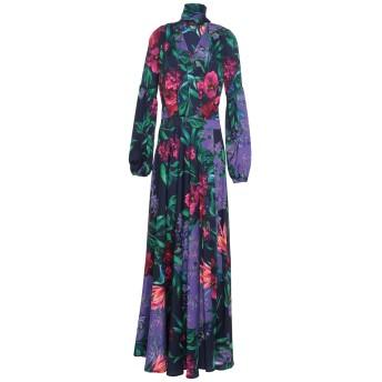 《セール開催中》W LES FEMMES by BABYLON レディース ロングワンピース&ドレス パープル 40 ナイロン 97% / ポリウレタン 3%