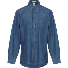 《期間限定セール開催中!》BROOKS BROTHERS メンズ シャツ ダークブルー S コットン 100%