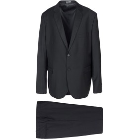 《期間限定セール開催中!》PEPENERO メンズ スーツ ブラック 58 ポリエステル 70% / レーヨン 30%