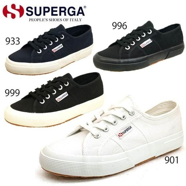 スペルガ SUPERGA S000010 キャンバス クラシック スニーカー レディース/メンズ