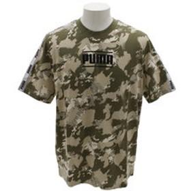 【Super Sports XEBIO & mall店:トップス】CAMO PACK ロゴ AOP Tシャツ 845190 02 GRN
