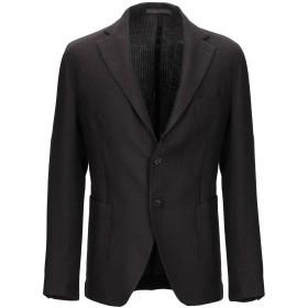 《期間限定セール開催中!》ELEVENTY メンズ テーラードジャケット ダークブラウン 50 ウール 100%