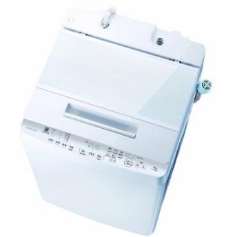 東芝 TOSHIBA 全自動洗濯機 「ZABOON/ザブーン」 [洗濯10.0kg/インバーターモーター搭載] AW-10SD8-W グランホワイト