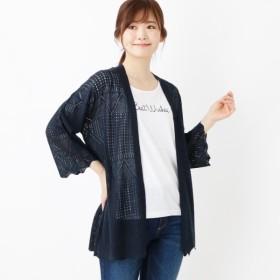 [マルイ]【セール】【SET】透かしカーデxロゴTシャツ/サンカンシオン(レディス)(3can4on Ladies)
