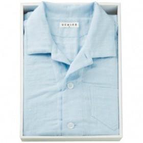内野 マシュマロガーゼパジャマ メンズ Mサイズ RC15680M UCHINO 送料無料 衣料品・布製品・服飾用品  ポイント10倍