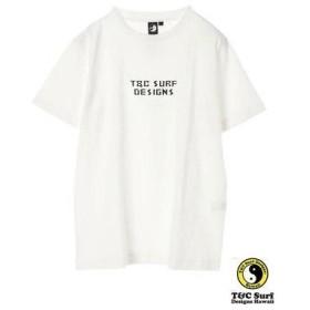 イーハイフンワールドギャラリー E hyphen world gallery T&C ロゴTシャツ (Off White)