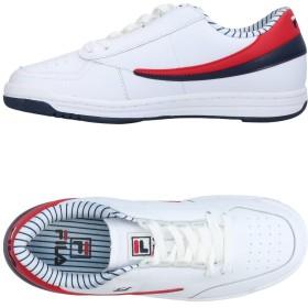 《期間限定 セール開催中》FILA メンズ スニーカー&テニスシューズ(ローカット) ホワイト 45 紡績繊維