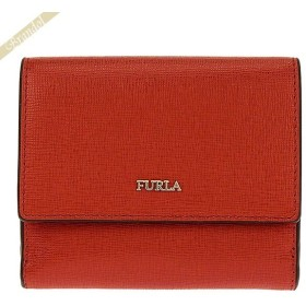 フルラ FURLA レディース 三つ折り財布 BABYLON バビロン レザー ミニウォレット レッド系 PZ57 B30 ASF / 1000210