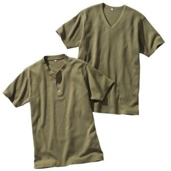 ワッフル半袖Tシャツ2枚組 Tシャツ・カットソー