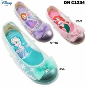 ディズニー プリンセス DN C1234 キッズシューズ 子供靴 サマーシューズ 女の子 女児 軽量 薄底 ムーンスター moonstar