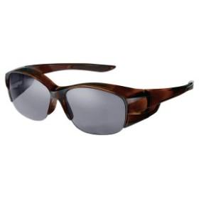 SWANS(スワンズ) 偏光 サングラス メガネの上からかける オーバーグラス OG5-0751 DMBR デミブラウン