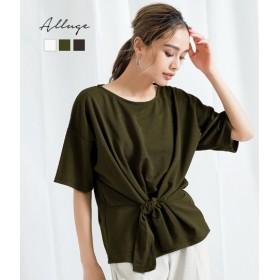 【セール開催中】ANAP(アナップ)カットミラノウエストリボンTシャツ