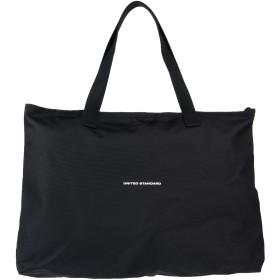 《セール開催中》UNITED STANDARD レディース ハンドバッグ ブラック 紡績繊維