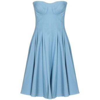 《セール開催中》CONTESSA レディース ミニワンピース&ドレス ブルー 40 コットン 100%