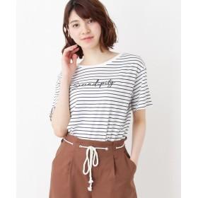 HusHusH(Ladies)(ハッシュアッシュ(レディース)) ロゴTシャツ