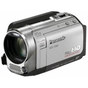 パナソニック デジタルハイビジョンビデオカメラ HS60 サニーシルバー HDC-HS60-S (HDD160GB) 中古品 アウトレット