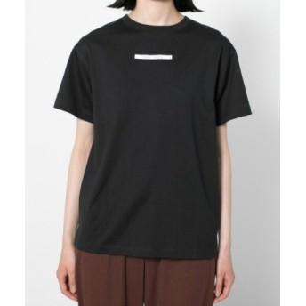 (SENSE OF PLACE/センスオブプレイス)ミニボックスロゴTシャツ(半袖)/レディース BLACK