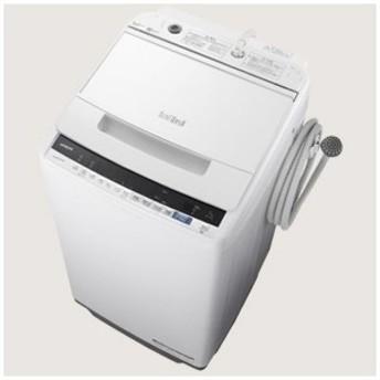 日立 HITACHI 全自動洗濯機 「ビートウォッシュ」 [洗濯7.0kg/インバーターモーター搭載] BW-V70E-W ホワイト