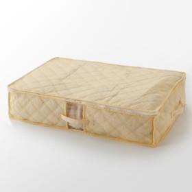 HOME COORDY 布団収納袋 ベージュ S(72×52×15cm) ホームコーディ S(72×52×15cm) 押入れ整理棚・圧縮袋