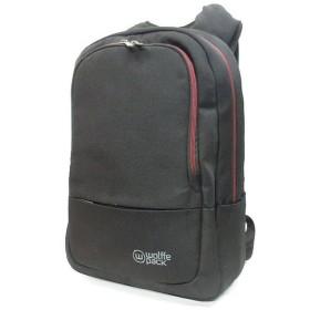 ウルフパック wolffe pack メトロ オービタル バックパック 22L リュックサック 鞄 黒 ◆NK-15293 ◆08 メンズ 【中古】【ベクトル 古着】