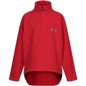 《期間限定 セール開催中》NAPA メンズ スウェットシャツ レッド L ポリエステル 100%
