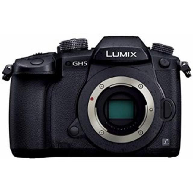 パナソニック ミラーレス一眼カメラ ルミックス GH5 ボディ ブラック DC-GH5-K 中古品 アウトレット