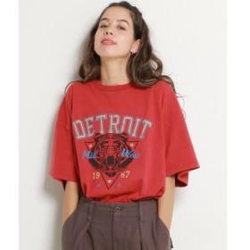 [マルイ]【セール】USED風トラプリントTシャツ/ダブルネーム(DOUBLE NAME)