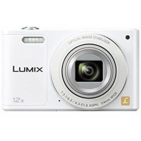パナソニック デジタルカメラ ルミックス SZ10 光学12倍 ホワイト DMC-SZ10-W 中古品 アウトレット