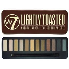 W7(ダブルセブン) W7 アイシャドウパレット2 ライトリートステッド 化粧品 コスメ EYESHADOW PALETTE LIGHTLY TOASTED