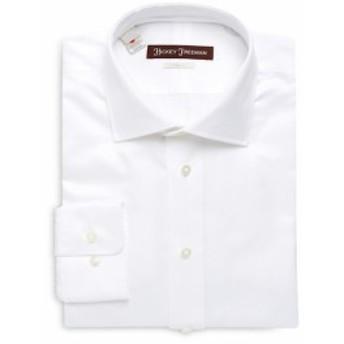 ヒッキーフリーマン Men Clothing Cotton Classic-Fit Dress Shirt
