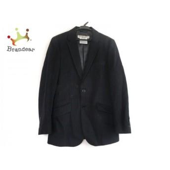 キャサリンハムネット KATHARINEHAMNETT ジャケット サイズS メンズ 黒×グレー ストライプ スペシャル特価 20190825