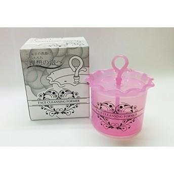 TORIGOE 洗顔泡立て器 フェイスクレンジングフォーマー ピンク