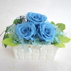 花ギフト・スクエアアレンジ「幸」(1)プリザーブドフラワー・御祝い・贈り物・記念日・お見舞い・プレゼントなどに。
