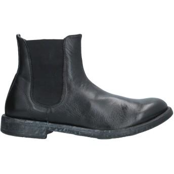《セール開催中》CAFNOIR メンズ ショートブーツ ブラック 39 革