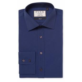 トーマスピンク Men Clothing Albermarle Cotton Dress Shirt