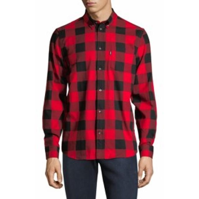 Men Clothing Olavi Buffalo Check Shirt