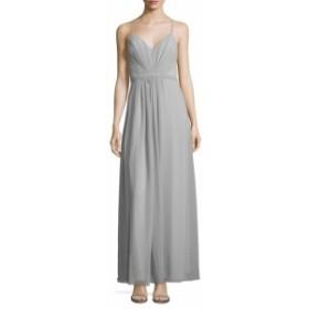 フェイム&パートナーズ レディース ワンピース Cross Tide V-Neck Maxi Dress