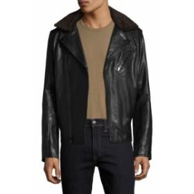 カールラガーフェルド Men Clothing Karl Asymmetrical Motorcycle Jacket