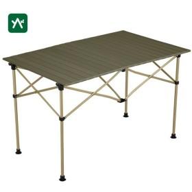 コールマン コンパクト収納 イージーロール2ステージテーブル/110(オリーブ) 2000034679