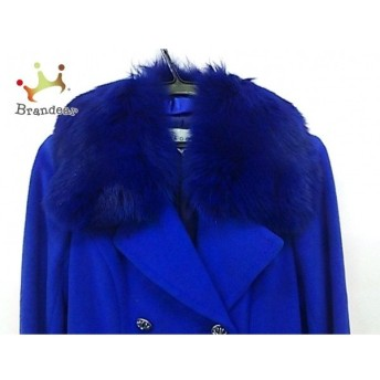 ギンザマギー MAGGY コート サイズ40 M レディース ブルー 冬物/ファー 新着 20190516
