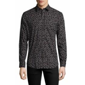 スレート&ストーン Men Clothing Cars Spread Collar Sportshirt