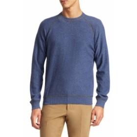 ルチアーノバーバラ Men Clothing Active Cashmere Crew Sweater