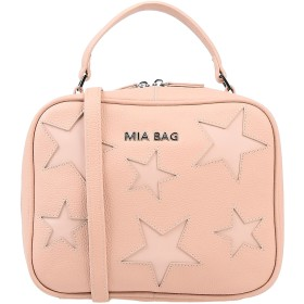 《期間限定セール開催中!》MIA BAG レディース ハンドバッグ ローズピンク 革