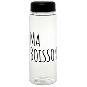 クリアーボトル 500ml ブラック(ma boisson)