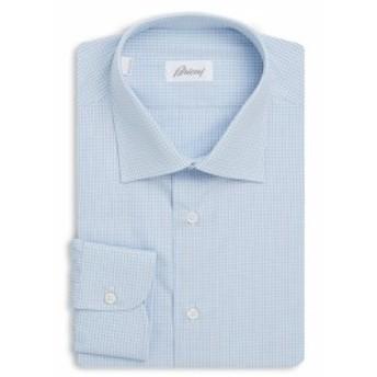 ブリオーニ Men Clothing Cotton Dress Shirt