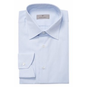 カナリ Men Clothing Boxed Cotton Modern Fit Shirt