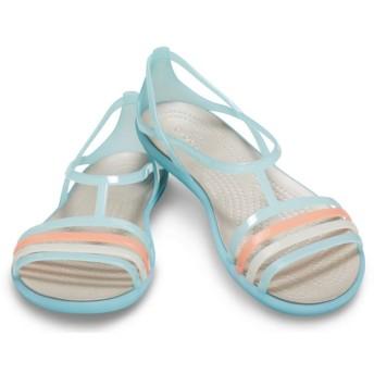 【クロックス公式】 クロックス イザベラ サンダル ウィメン Women's Crocs Isabella Sandal ウィメンズ、レディース、女性用 ブルー/青 23cm,24cm,25cm sandal サンダル 50%OFF